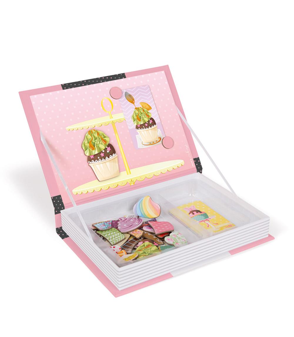 Libro Magnético Cupcakes