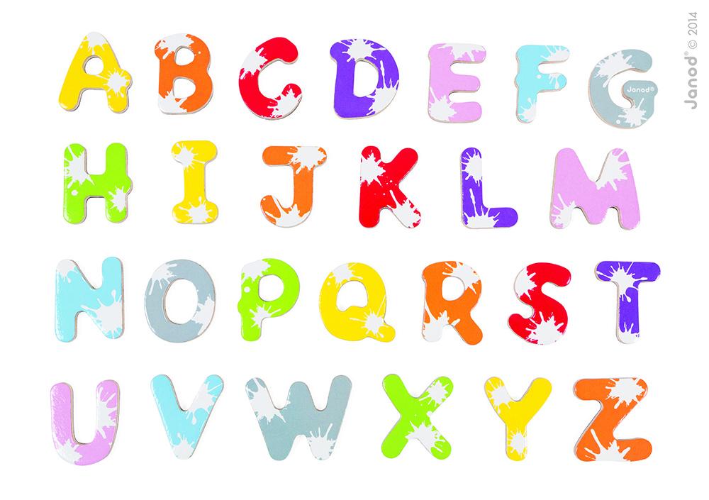 Maletín De 52 Letras Spash