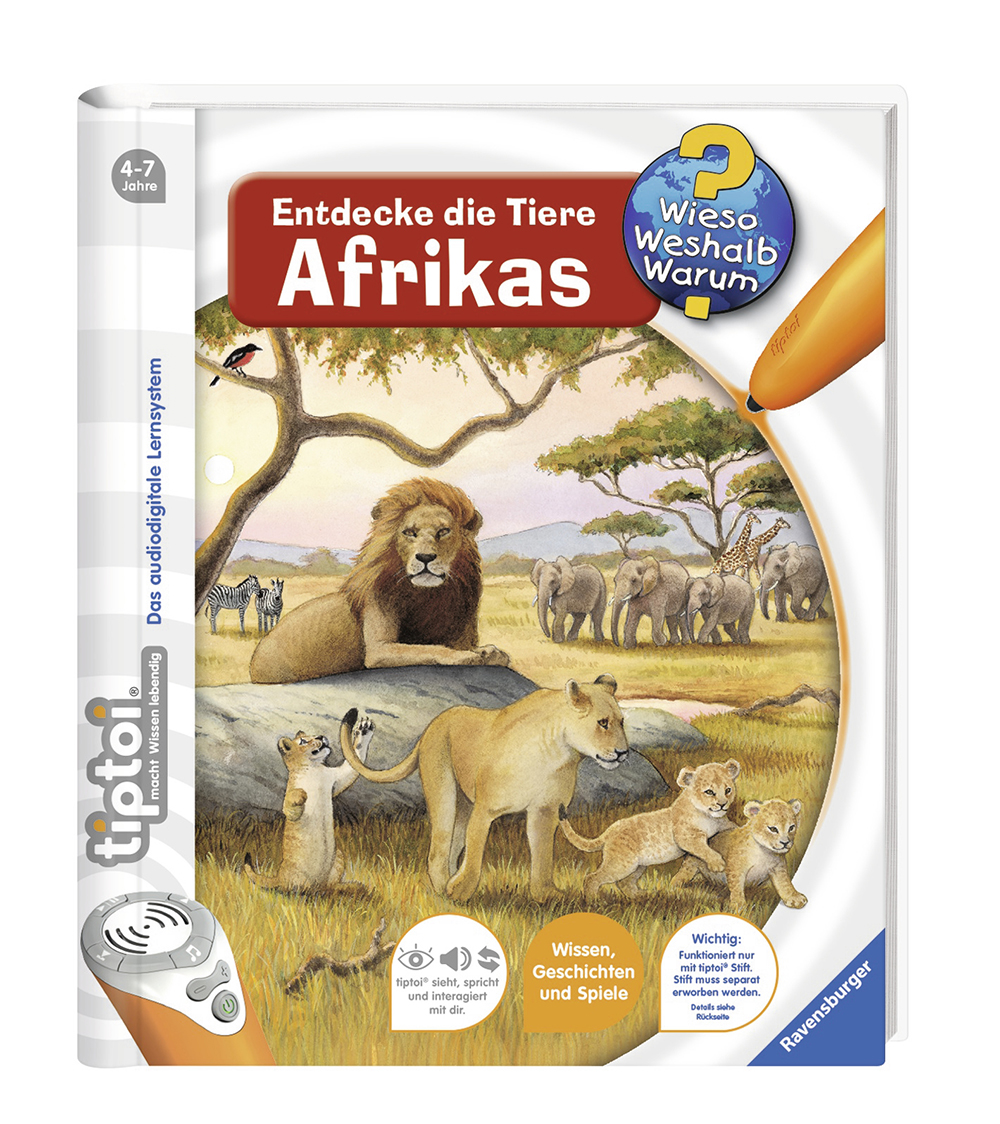Libro Descubriendo Los Animales De Africa