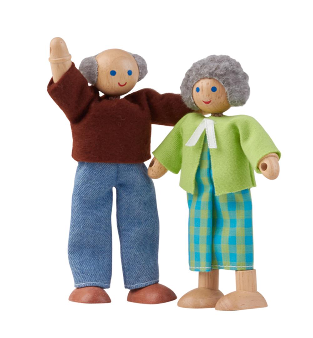 Abuelo y abuela