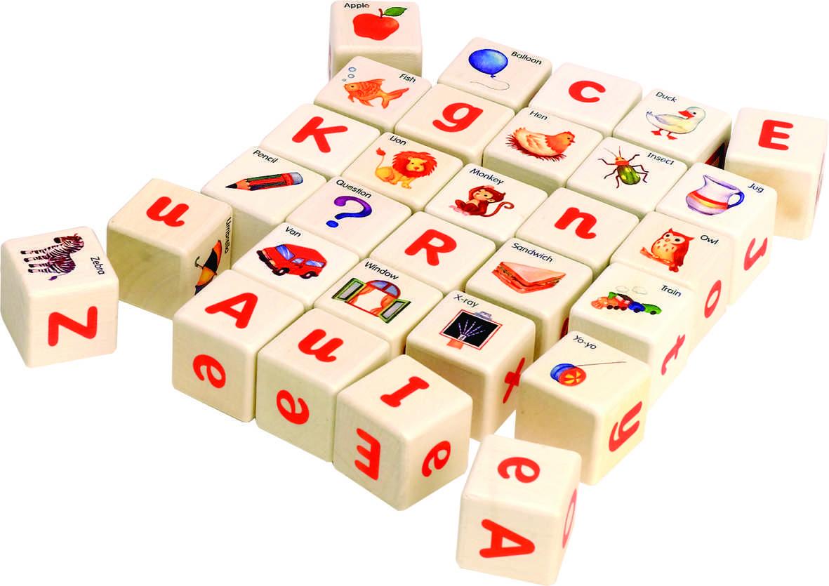 Bloques De Alfabeto En Inglés