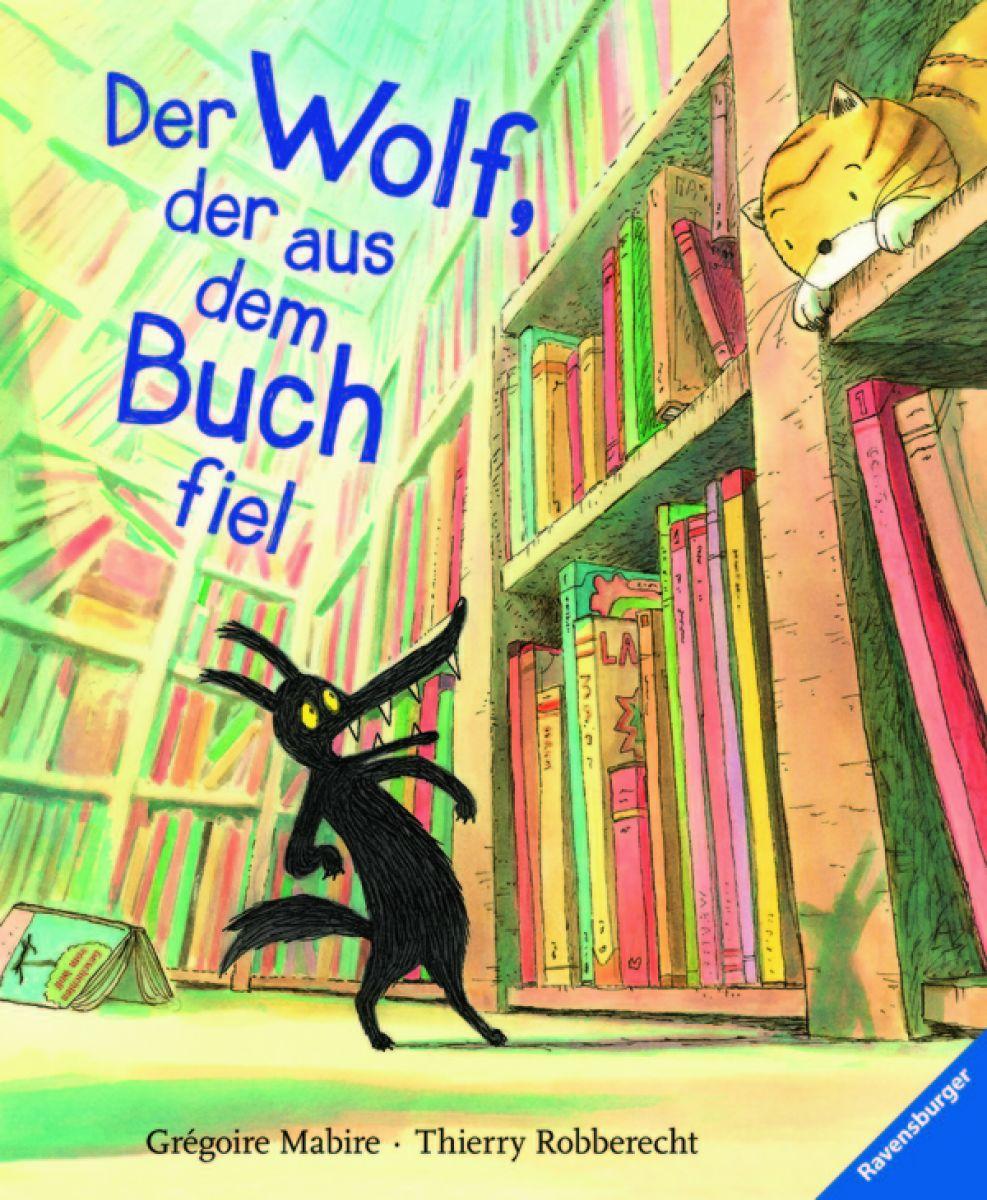 El Lobo Que Salió De Un Libro