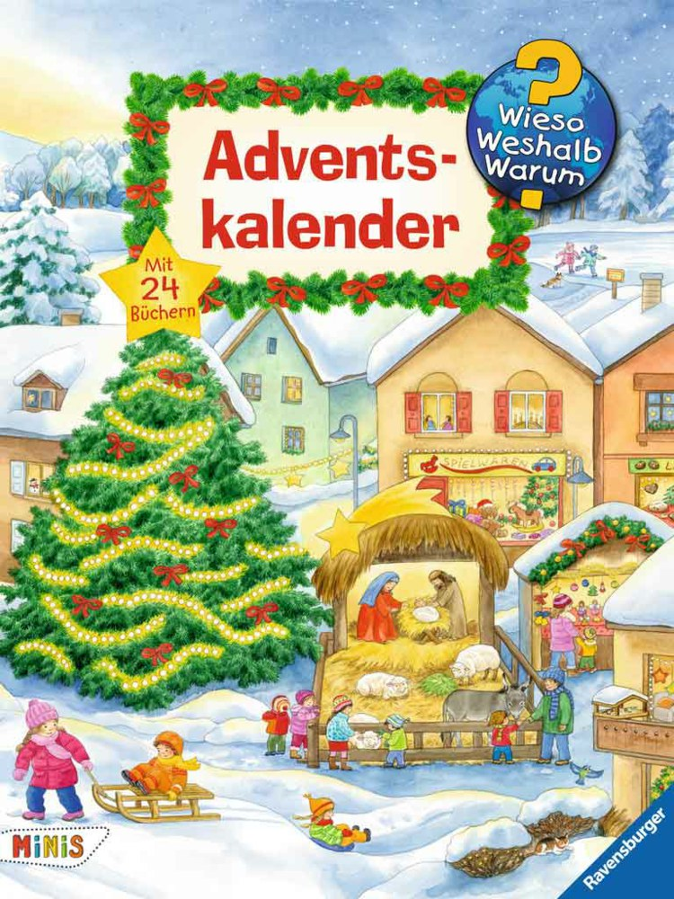 Mini Libros Calendario De Adviento Por Que