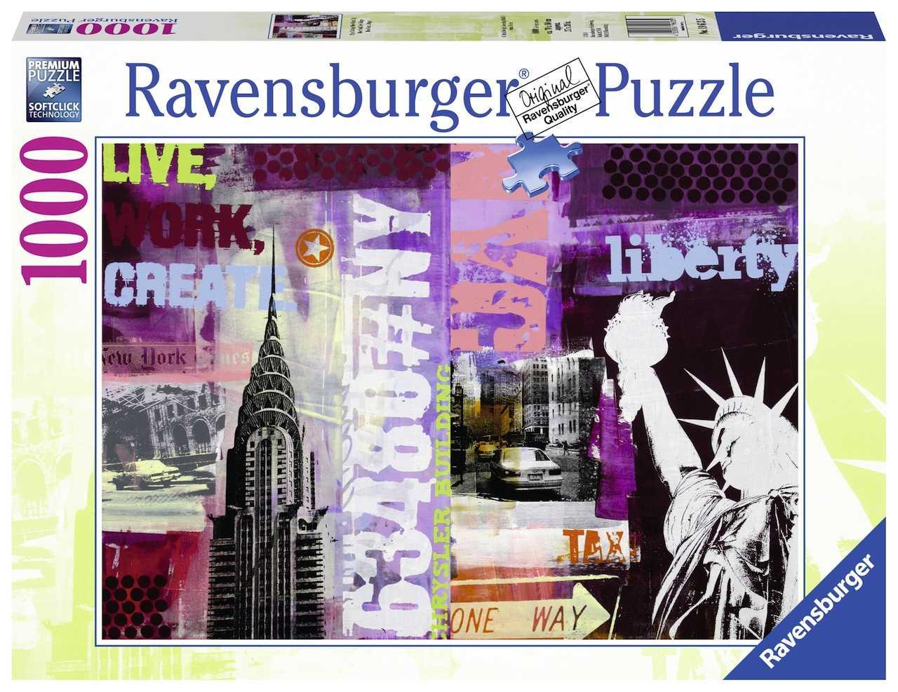 Romp. Collage De New York 1000p.
