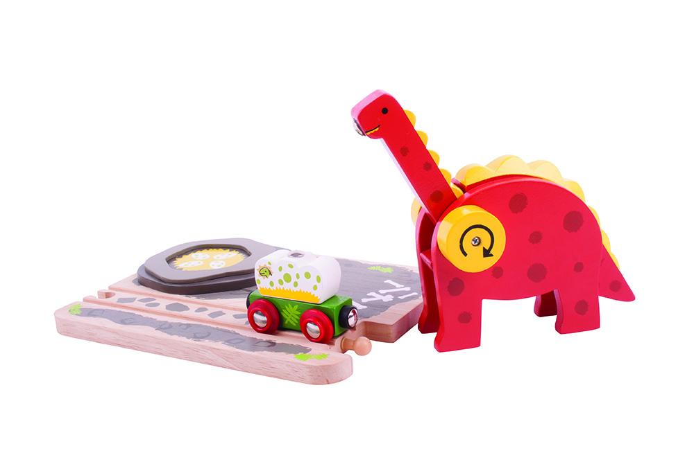 Grúa De Dinosaurio