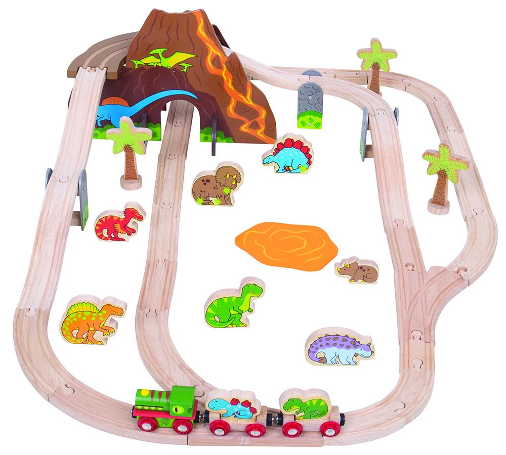Set De Trenes Dinosaurios