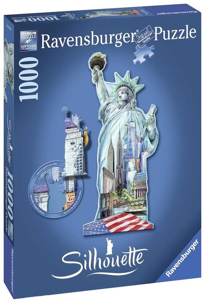 Romp. Estatua De La Libertad 1000p.
