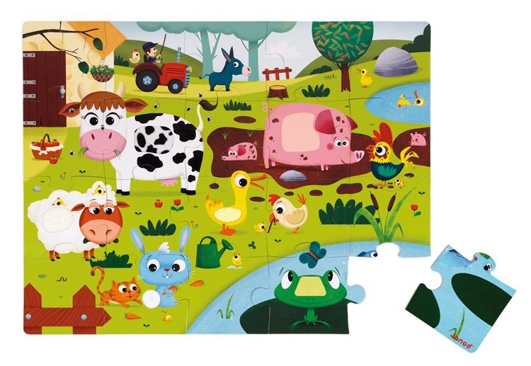 Puzzle Táctil La Granja
