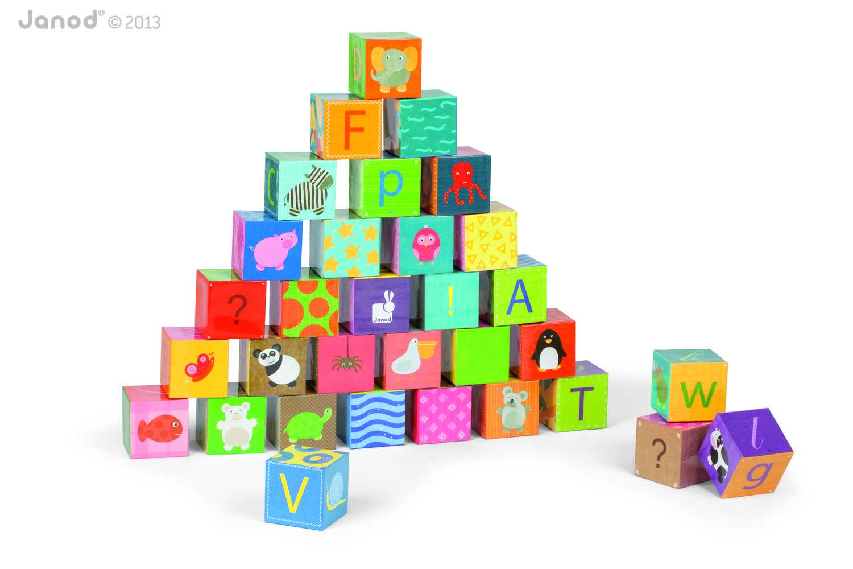 Kubkid 32 Cubos Alfabeto