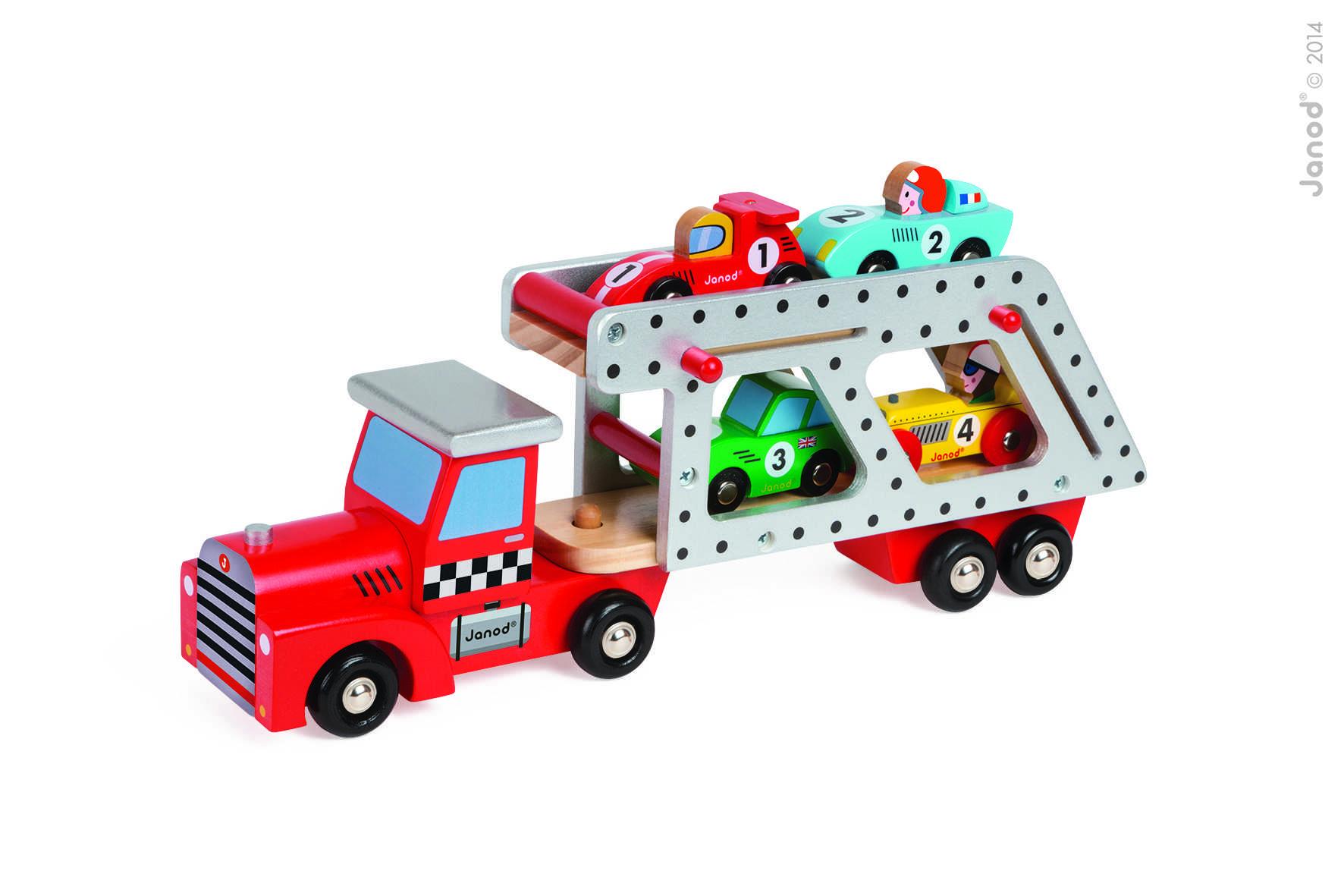 Story Camión Transporta Autos