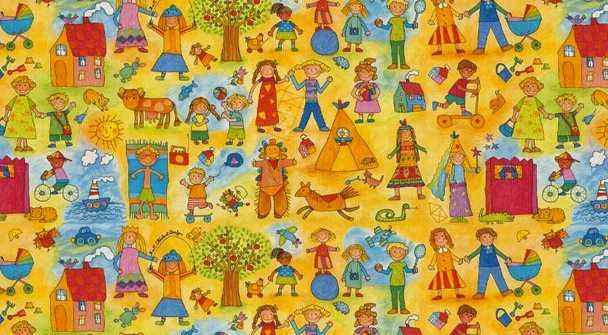 Papel De Regalo Kinder-Kinder