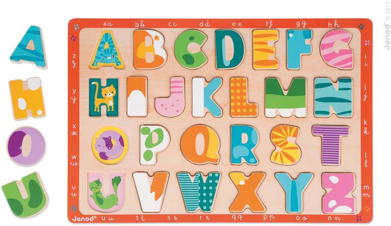 Rompecabezas De Encaje Alfabeto