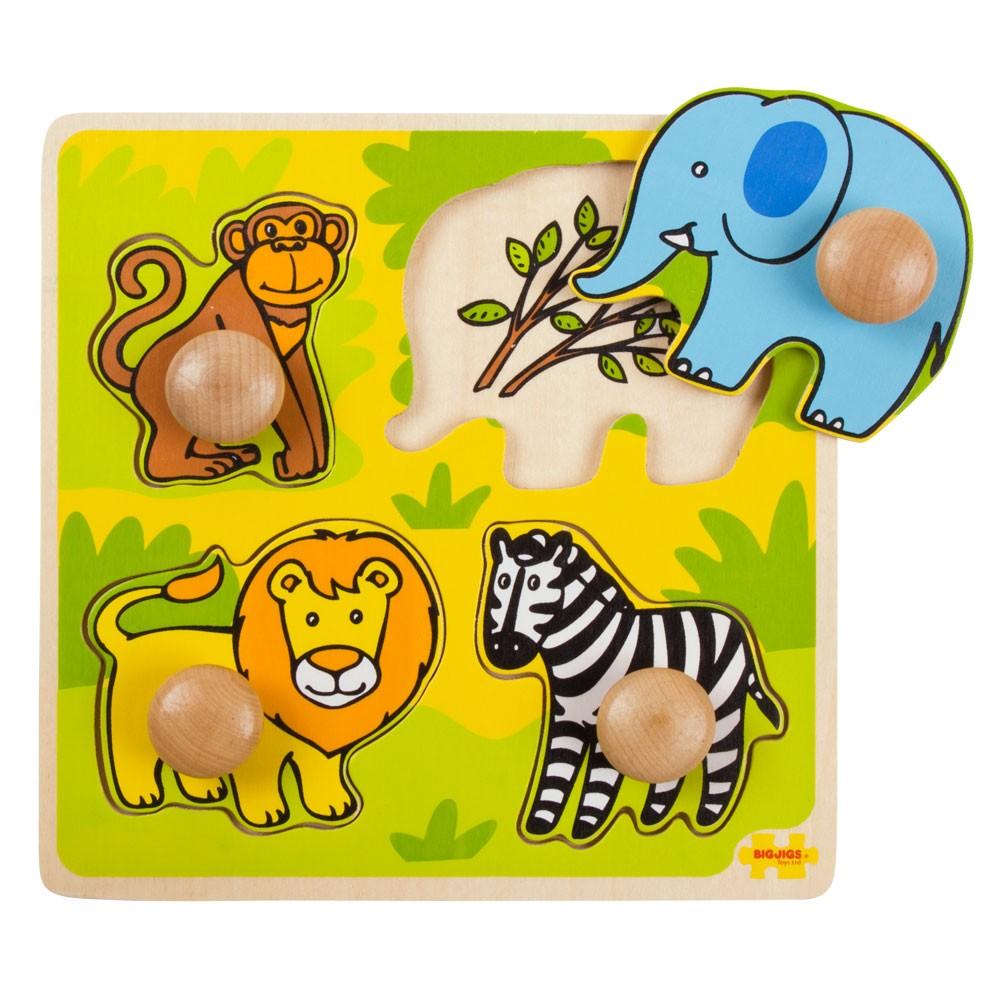 Mi Primer Puzzle Safari