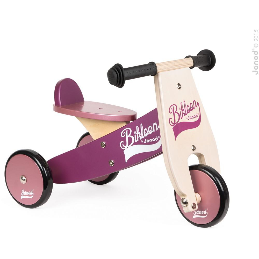 Triciclo Morado/Rosado Little Bikloon
