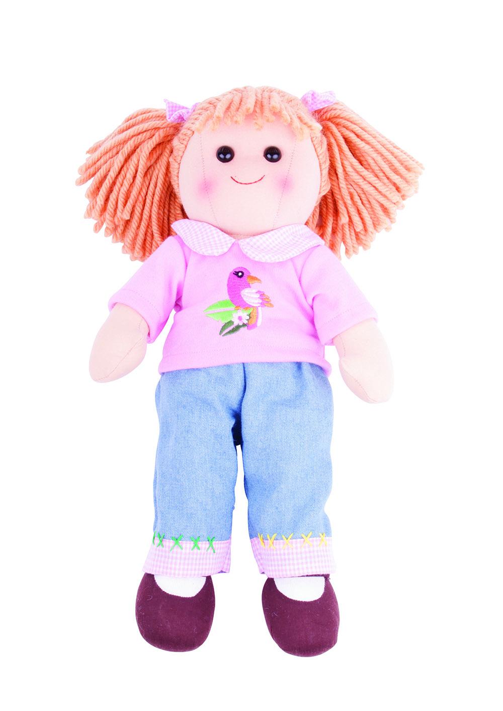 Molly Con Jeans Y Camiseta Rosada
