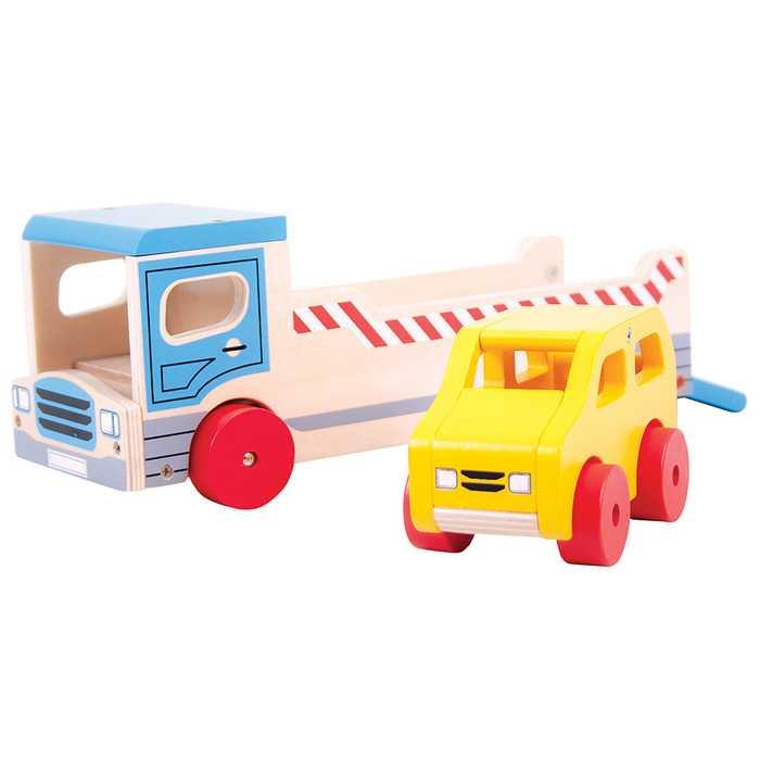 Camión Transportador De Carros
