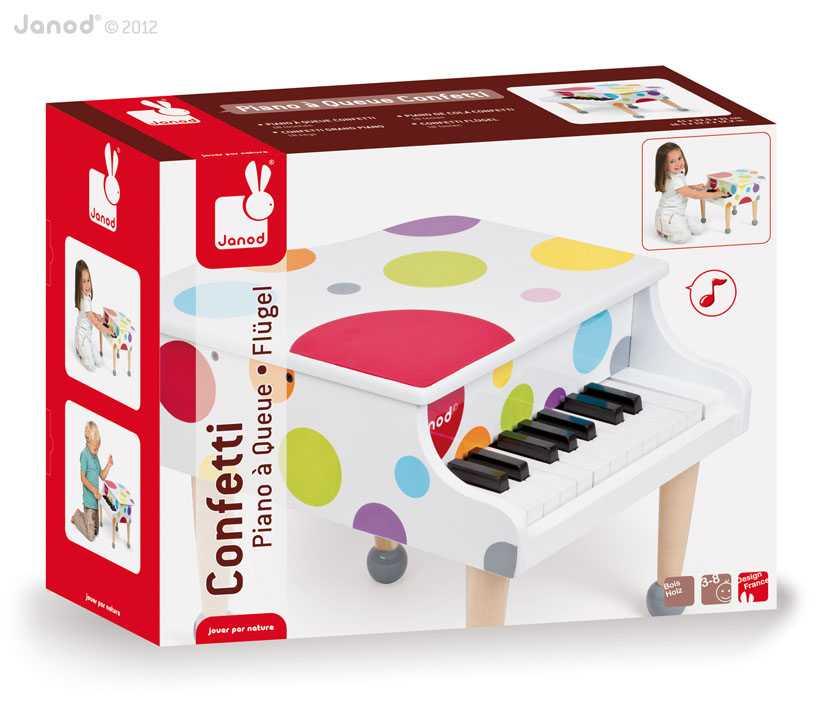 Piano De Cola Confetti