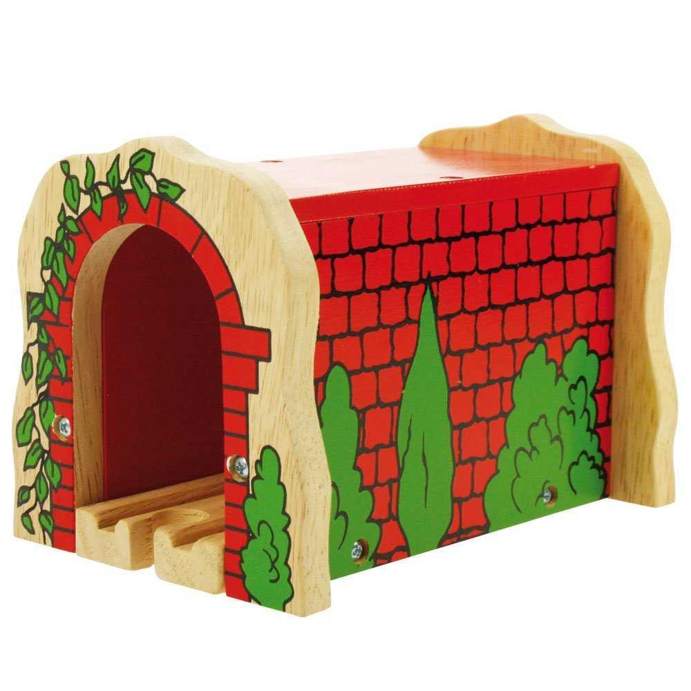 Túnel De Ladrillo Rojo