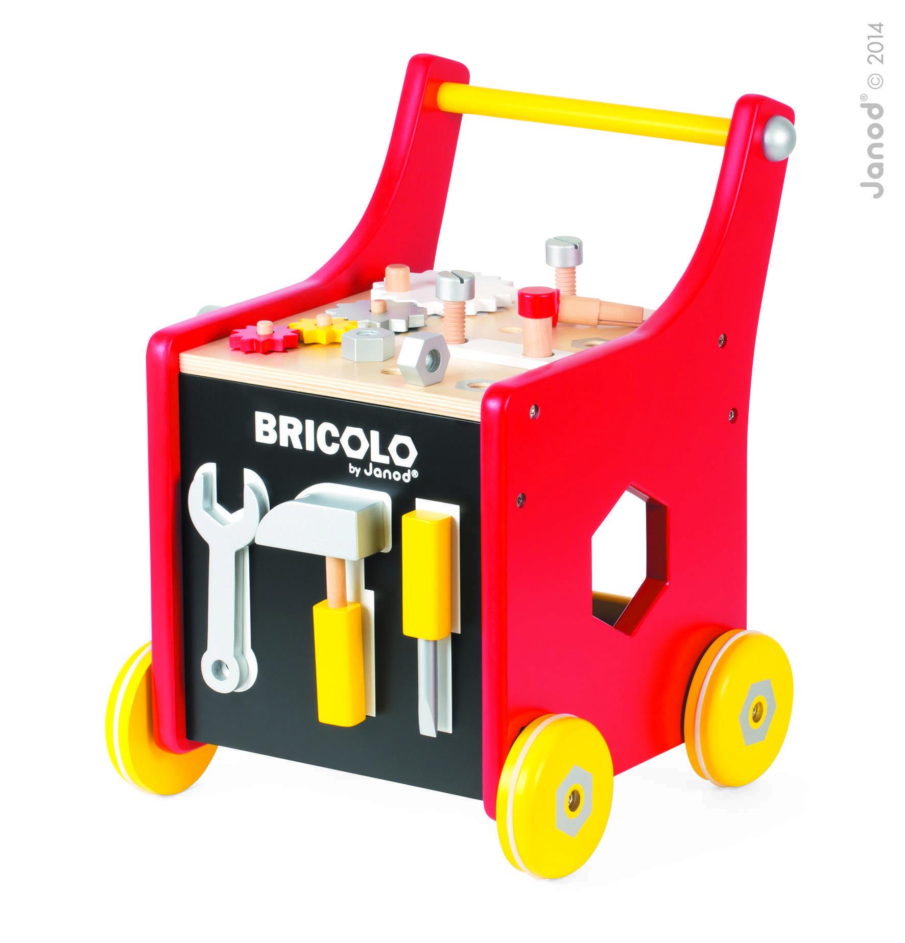 Carrito De Carpintero Magnético Redmaster Bricolo
