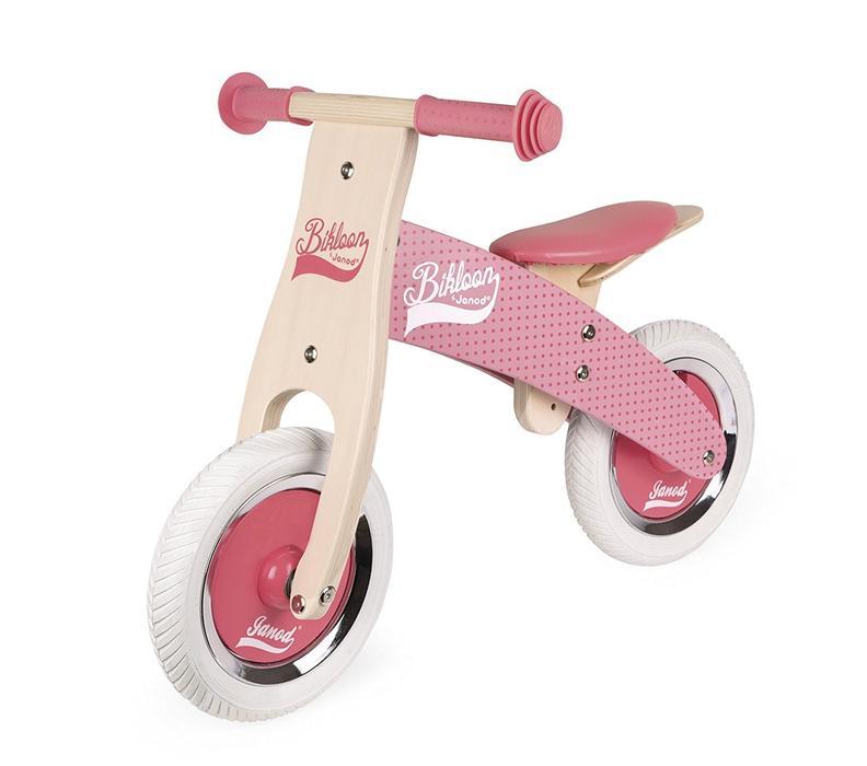 Bicicleta Sin Pedales Rosada Little Bikloon