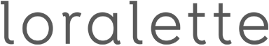 Loralette logo color