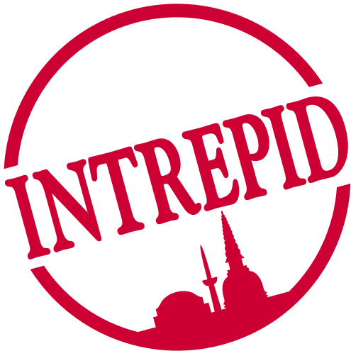 Interpid travel logo color