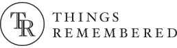 Things remembered logo color