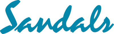 Sandals resort logo color