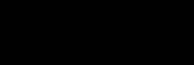 Istock logo black