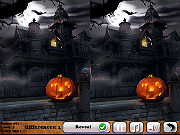 Play Creepy Halloween - 5 Differences game