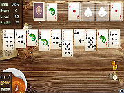 Play Wild West Solitaire game
