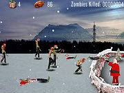 Play Santa Kills Zombies II game