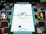 Play Air Hockey 3D game