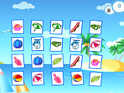 Play Sunshine Beach Memory game