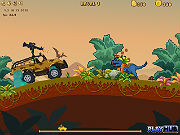 Play Dinosaur Truck game