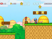 Play Super Mario Star Scramble 3 game
