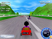 Play Super Kart 3D game