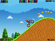 Play Mario Bros Motocross game