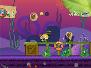 Play Sponge Bob And Patrick: Dirty Bubble Busters game