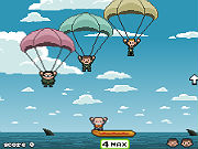 Play Parachute S.O.S game