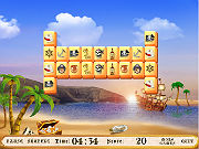 Play Jolly Roger Mahjong game
