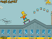 Play Bart on Skate game