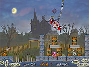 Play Roly-Poly Cannon: Bloody Monsters Pack game