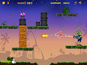Play Silly Bombs And Space Invaders game