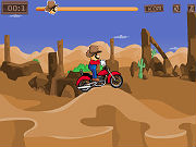 Play Cowboy Mario Bike game