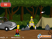 Play Bart Simpson Skateboarding game