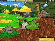Play Asterix and Obelix Bike game