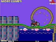 Play Sonic Ninja Motorbike game
