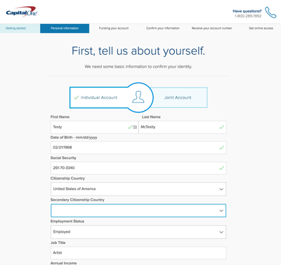 Capital one credit card change email address