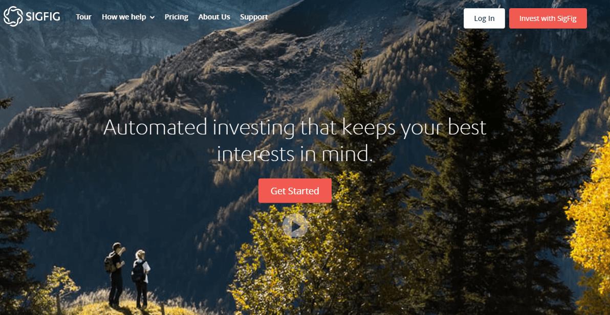 SigFig Homepage